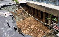 'Hố tử thần' trên đường Trường Sa do lỗi nhà thầu Trung Quốc