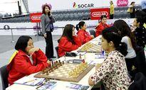 Đội nữ cờ vua Việt Nam vẫn bất bại