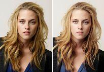 'Sốc' với hình ảnh sao Hollywood trước và sau khi photoshop