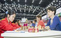 Đội nữ cờ vua Việt Nam thắng trận thứ 5 ở Olympiad 2016