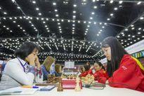 Đội nữ Việt Nam lần đầu xếp hạng 7 ở Olympiad