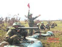 Sư đoàn 324 diễn tập vòng tổng hợp bắn đạn thật