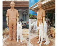 Tác giả 'Điệp viên hoàn hảo' tặng tượng Phạm Xuân Ẩn cho Đường sách