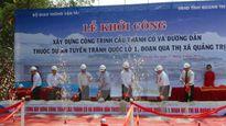 Quảng Trị khởi công xây dựng cầu Thành cổ với mức đầu tư 670 tỷ đồng