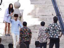 Lộ ảnh Lee Min Ho – Jun Ji Hyun ở phim trường 'Nàng tiên cá'