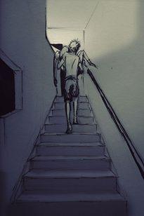 Bộ tranh: Tình yêu, có khi đơn giản chỉ là thức dậy được nhìn thấy nhau...