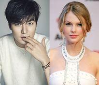 Công ty quản lý bác tin đồn Lee Min Ho hẹn hò Taylor Swift