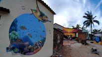 Ngắm 'ngôi làng bích họa' đầu tiên ở Việt Nam