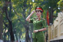 Nữ sinh Đại học PCCC đẹp dịu dàng trong tà áo dài truyền thống