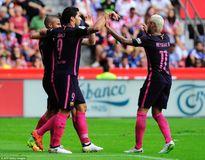 Thiếu Messi, Barca vẫn trút mưa bàn thắng vào lưới đối thủ