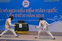 Vắng kiếm thủ dự Olympic, Hà Nội không có HCV đồng đội kiếm chém