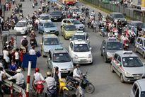 Hà Nội 'ngạt thở' với 3.000 taxi ngoại tỉnh