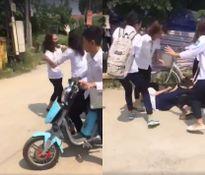 Hà Nội: Xôn xao clip nữ sinh cấp 2 đánh nhau vì ghen tuông