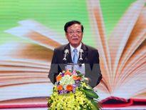 Trao Huân chương Độc lập cho lãnh đạo Bộ Giáo dục và Đào tạo