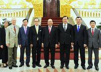 Thủ tướng tiếp cựu Chủ tịch Thượng viện Malaysia