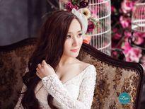 'Bạn gái cũ' của Khánh Phương bất ngờ tung ảnh cưới đẹp như mơ