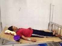 Bệnh xá đảo Song Tử Tây cấp cứu một ngư dân bị gãy chân