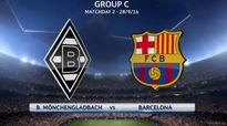 Nhận định, dự đoán kết quả tỷ số trận M'Gladbach - Barcelona