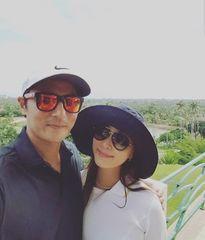 Vợ chồng Jang Dong Gun khoe khoảnh khắc hạnh phúc bên nhau