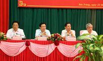 Nâng cao vai trò các Ban chỉ đạo ba vùng chiến lược
