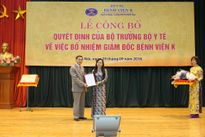 Bộ Y tế bổ nhiệm PGS.TS Trần Văn Thuấn làm giám đốc Bệnh viện K