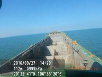 Tìm thấy thi thể thuyền viên gặp nạn trên vùng biển Hải Phòng