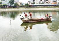 Tiếp tục xử lý nước hồ trên địa bàn Thủ đô