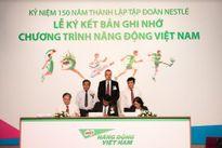 """Nestlé tham gia """"Phát triển sức bền và tầm vóc người Việt Nam"""""""