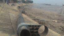 Ngư dân phát hiện đường ống dài 100 mét trên vùng biển Thanh Hóa-Nghệ An