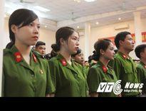 Tài sắc những nữ sinh cảnh sát được thăng hàm vượt cấp