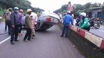 Tự gây tai nạn, lái xe 4 chỗ bị thương nặng