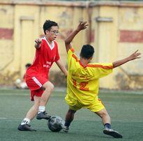 Giải bóng đá học sinh THPT Hà Nội: Hình ảnh, kết quả thi đấu ngày 12-10