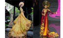 Ngắm quốc phục Việt Nam trên đấu trường nhan sắc quốc tế