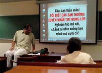 Khi giáo viên quá hài hước đến nỗi học trò phải... chuyên tâm đến lớp