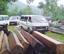 Bắt khẩn cấp 2 nghi phạm cướp xe chở tang vật