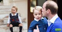 Vì sao Hoàng tử nhí George luôn mặc quần soóc