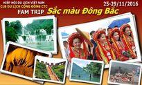 Câu lạc bộ Du lịch Cộng đồng tổ chức famtrip Sắc màu Đông Bắc 2016