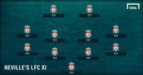 Đội hình xuất sắc nhất của Liverpool do huyền thoại MU bầu chọn