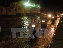 Triều cường đạt đỉnh gây ngập nặng tại TP Hồ Chí Minh