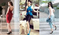 Sao Việt diện áo peplum thời trang ai đẹp hơn?