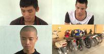 Bắt 3 đối tượng 9x trộm 11 xe máy để mua ma túy