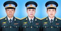 Máy bay rơi ở Bà Rịa-Vũng Tàu: Truy thăng quân hàm cho 3 phi công
