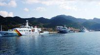 Ba chiến hạm Hải quân Trung Quốc thăm cảng Cam Ranh