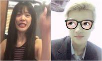 Sao Hàn 21/10: Sulli khoe ảnh tự cắt tóc, Se Hun giống hệt Lu Han