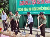 Hỗ trợ xây 4 căn nhà tình nghĩa cho CBCS Công an Phú Yên và Bình Định