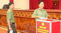 Công an Hậu Giang quyên góp 660 triệu đồng ủng hộ đồng bào miền Trung
