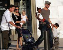 Angelina Jolie và Brad Pitt lo lắng 6 đứa con có thể bị bắt cóc