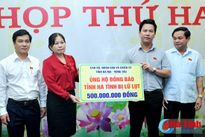 Bà Rịa - Vũng Tàu ủng hộ nhân dân vùng lũ Hà Tĩnh 500 triệu đồng