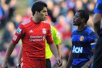 Quên thù xưa, Evra chúc mừng Suarez giành Chiếc giày vàng