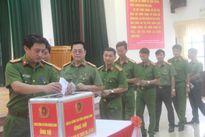 Công an Quảng Nam phát động ủng hộ đồng bào lũ lụt miền Trung
